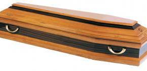 Cercueil inhumation modèle Glycine